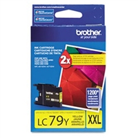 Brother LC79Y OEM Yellow Ink Cartridge