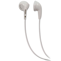 Maxell EB-95 Stereo Earbuds, White