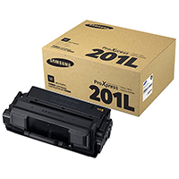 Genuine Samsung MLT-D201L High Yield Black Toner Cartridge - OEM