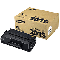 Genuine Samsung MLT-D201S Black Toner Cartridge - OEM