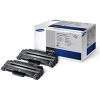 Samsung MLT-P105A OEM 2-Pack High Yield Black Toner Cartridge