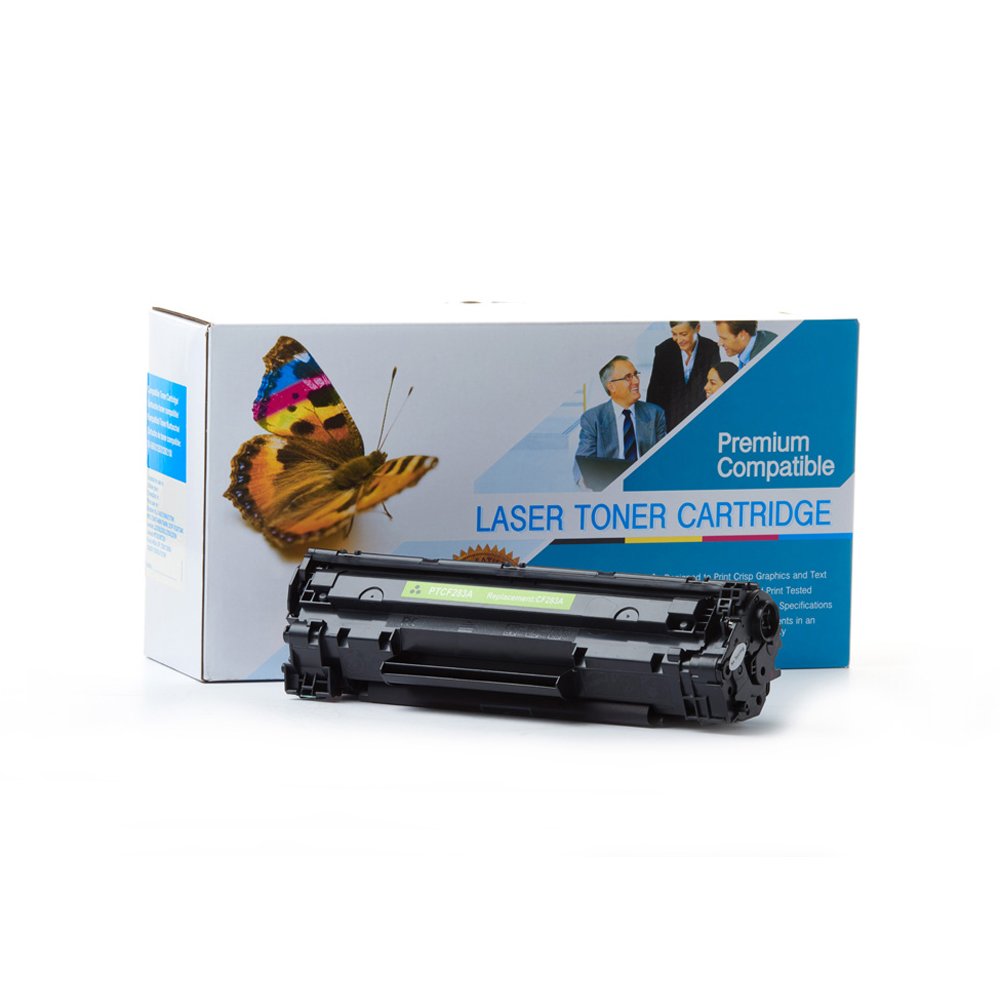Hp Cf283a 83a Compatible Black Toner Cartridge Laserjet Mfp M125 M127fn