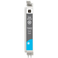 Epson T060220 Remanufactured Cyan Ink Cartridge