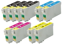 Epson T088 Remanufactured Ink Cartridge 10-Pack Value Bundle