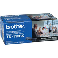 Brother Genuine TN-110BK Black Toner Cartridge 2,500 Page Yield