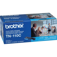 Brother Genuine TN-110C Cyan Toner Cartridge 1,500 Page Yield