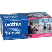 Brother Genuine TN-110M Magenta Toner Cartridge 1,500 Page Yield