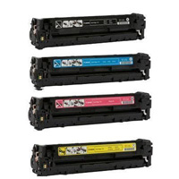 Canon 116 Compatible Toner Cartridge Color Set (C,K,M,Y)