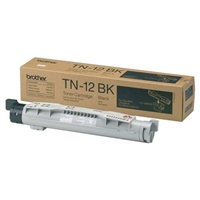 Brother TN12BK OEM Black Toner Cartridge