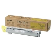 Brother TN12Y OEM Yellow Toner Cartridge
