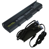 Dell Inspiron 1525/1526/1545 Series Compatible Hi-Capacity Battery & AC Adapter Value Bundle