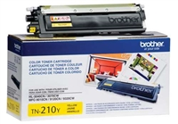 Brother TN210Y OEM Yellow Toner Cartridge
