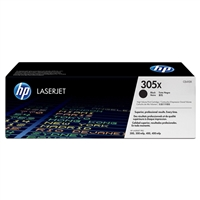 HP CE410X (HP 305X) Genuine High Yield Black Toner Cartridge