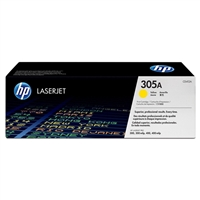 HP CE412A (HP 305A) Genuine Yellow Toner Cartridge