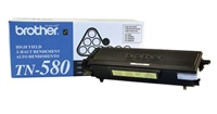 Brother TN580 OEM High Yield Black Toner Cartridge