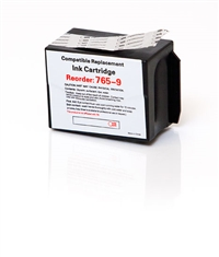 Pitney Bowes 765-9 Compatible Red Ink Cartridge