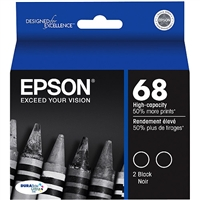 Epson Ultra High-Capacity Black Ink Twinpack (370 x 2 Yield)