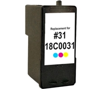 Lexmark 18C0031 (No. 31) Remanufactured Photo Color Ink Cartridge