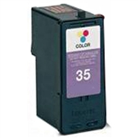 Lexmark 18C0035 (No. 35) Remanufactured Color Ink Cartridge