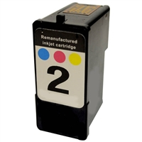 Lexmark 18C0190 (No. 2) Remanufactured Color Ink Cartridge