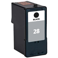 Lexmark 18C1428 (No. 28) Remanufactured Black Ink Cartridge