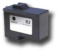 Lexmark 18L0032 (No. 82) Remanufactured Black Ink Cartridge