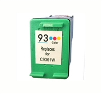 HP C9361W (HP 93) Remanufactured Color Ink Cartridge