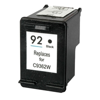HP C9362W (HP 92) Remanufactured Black Ink Cartridge