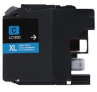 Brother LC103C Compatible Cyan Ink Cartridge
