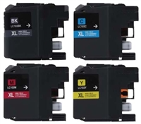 Brother LC103 Compatible Ink Cartridge 4 Pack Value Bundle