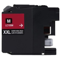 Brother LC105M Compatible Super High Yield Magenta Ink Cartridge