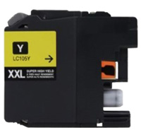 Brother LC105Y Compatible Super High Yield Yellow Ink Cartridge