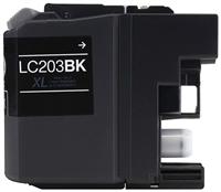 Brother LC203BK Compatible Black Ink Cartridge