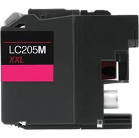 Brother LC205M Compatible High Yield Magenta Ink Cartridge