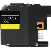 Brother LC205Y Compatible High Yield Yellow Ink Cartridge
