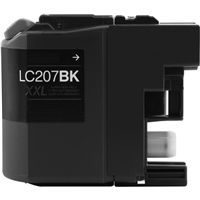 Brother LC207BK Compatible High Yield Black Ink Cartridge