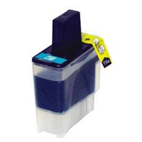 Brother LC41C Compatible Cyan Ink Cartridge