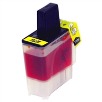 Brother LC41Y Compatible Yellow Ink Cartridge