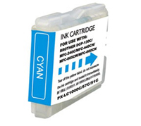 Brother LC51C Compatible Cyan Ink Cartridge