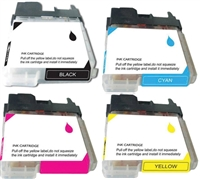 Brother LC65 Ink Cartridge Compatible 4-Pack Value Bundle