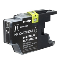 Brother LC75BK Compatible Black Ink Cartridge