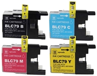 Brother LC79 Compatible 4-Pack Ink Cartridge Value Bundle