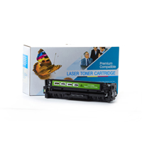 HP CC530A ( HP 304A ) Compatible Black Toner Cartridge For Color LaserJet CP2025
