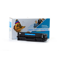 HP CE411A (HP 305A) Compatible Cyan Toner Cartridge