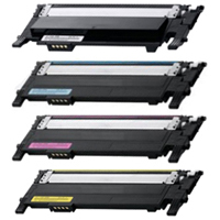 Toner Cartridges Compatible With Samsung CLP-360 Color Value Bundle