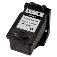 Canon PG-210 Remanufactured Black Ink Cartridge