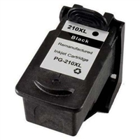 Canon PG-210XL Remanufactured Black Ink Cartridge