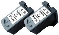 Canon PG-40, CL-41 Compatible Ink Cartridge 2-Pack Value Bundle