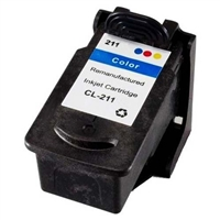 Canon CL-211 Remanufactured Color Ink Cartridge