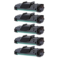 Toner Cartridge 5-Pack Value Bundle Compatible With Samsung ML-1610D2, ML-2010D3